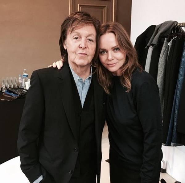 Paul e Stella McCartney