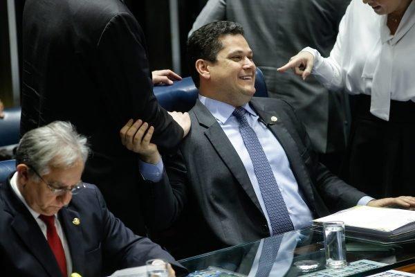 Presidente do Senado, Davi Alcolumbre. Local: Senado Federal. Foto: Igo Estrela/Metrópoles