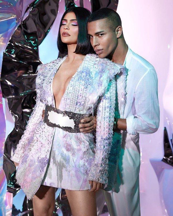 Kylie Jenner e Olivier Rousteing