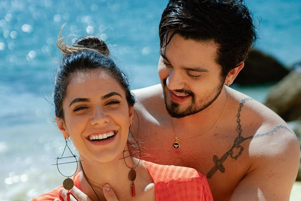 Luan Santana e noiva Jade Magalhães