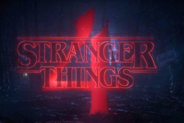Stranger Things 4ª temporada Logo