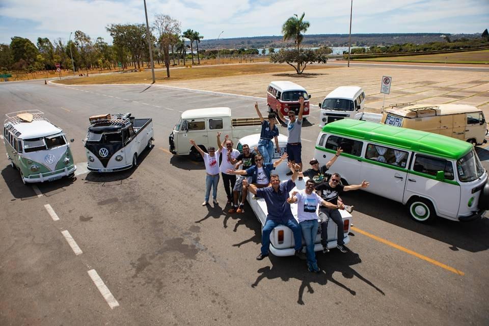 Dia da Kombi: moradores do DF vão comemorar data na estrada