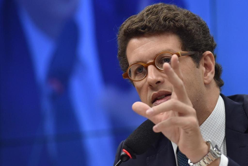 Ricardo Salles ainda utilizou parte do discurso para atacar esquerda e veículos de imprensa - Foto: Murilo Veiga   GCO Notícias