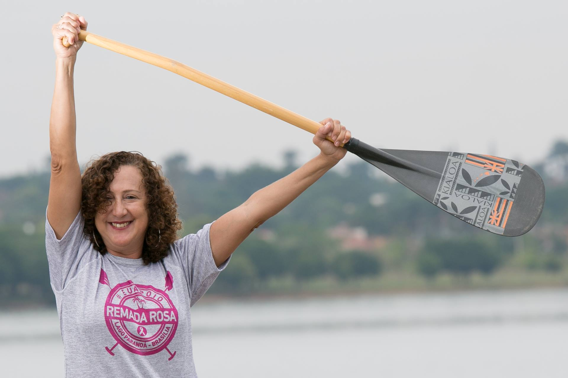 Moradora do DF conta como as amizades que fez ao longo do tratamento e a espiritualidade tem ajudado na luta contra o câncer de mama