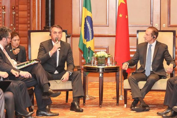 Bolsonaro viagem China