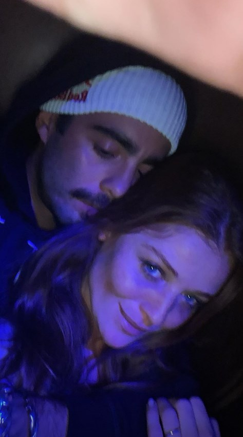 Pedro Scooby e Cintia Dicker