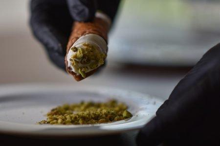 Cannoli e Burrata artesanal, Apulia