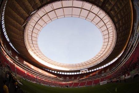 Estádio Mané Garrincha vazio