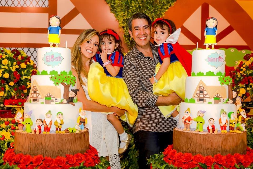 Era uma vez: Mariah e Eloah Oliveira Catta Preta completam 3 anos - Metrópoles