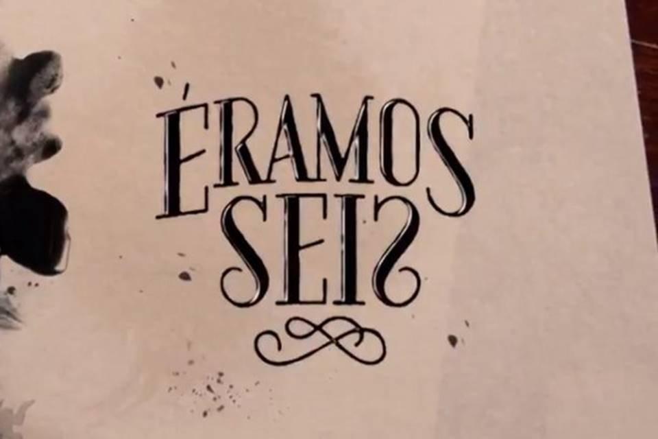 Cena da abertura da novela Éramos Seis