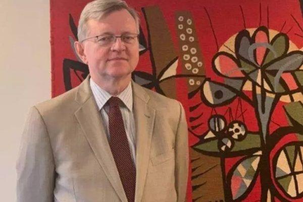 Futuro embaixador do Brasil nos EUA, Nestor Forster