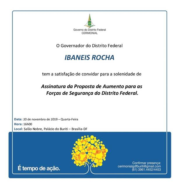 Divulgação/GDF