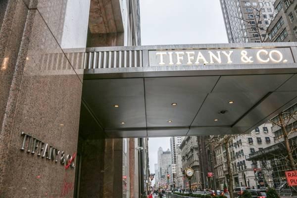 loja da Tiffany em Nova York