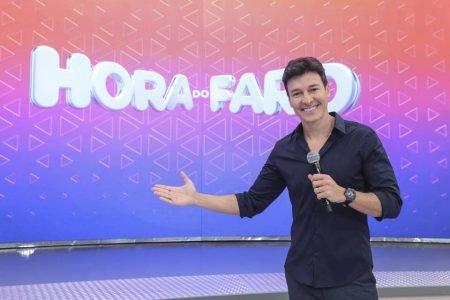 Rodrigo Faro no programa A Hora do Faro