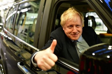 Boris Johnson, primeiro ministro do Reino Unido