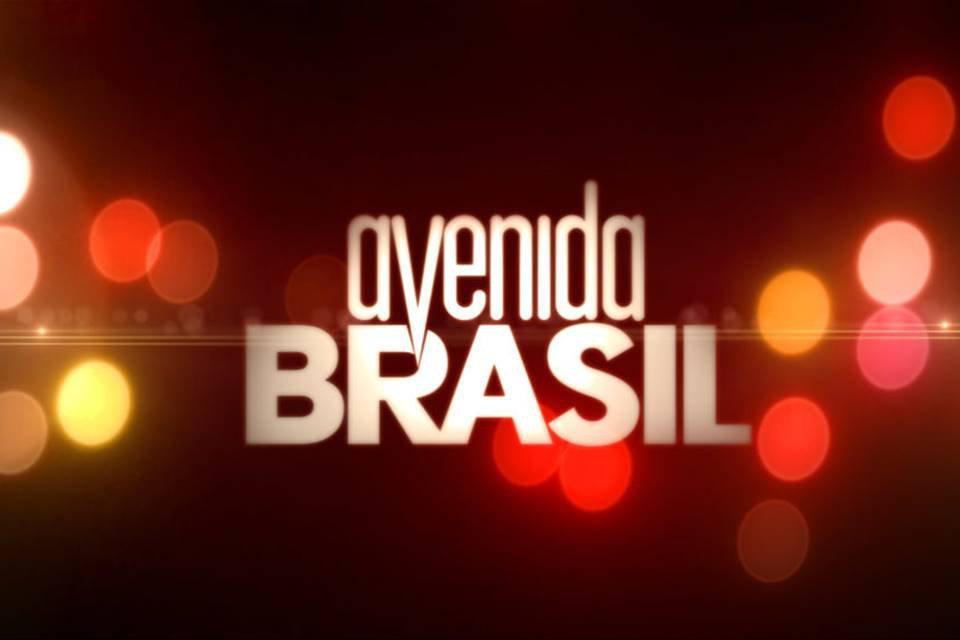 Cena da abertura da novela Avenida Brasil