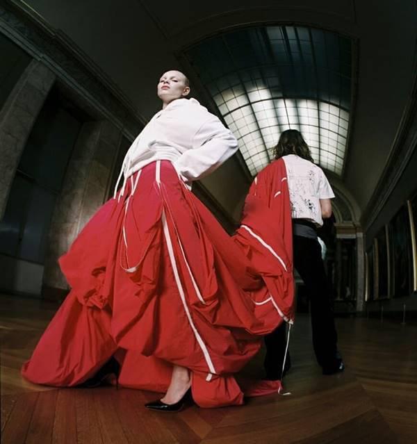 Thibaut Grevet/Divulgação/Off-White x Louvre