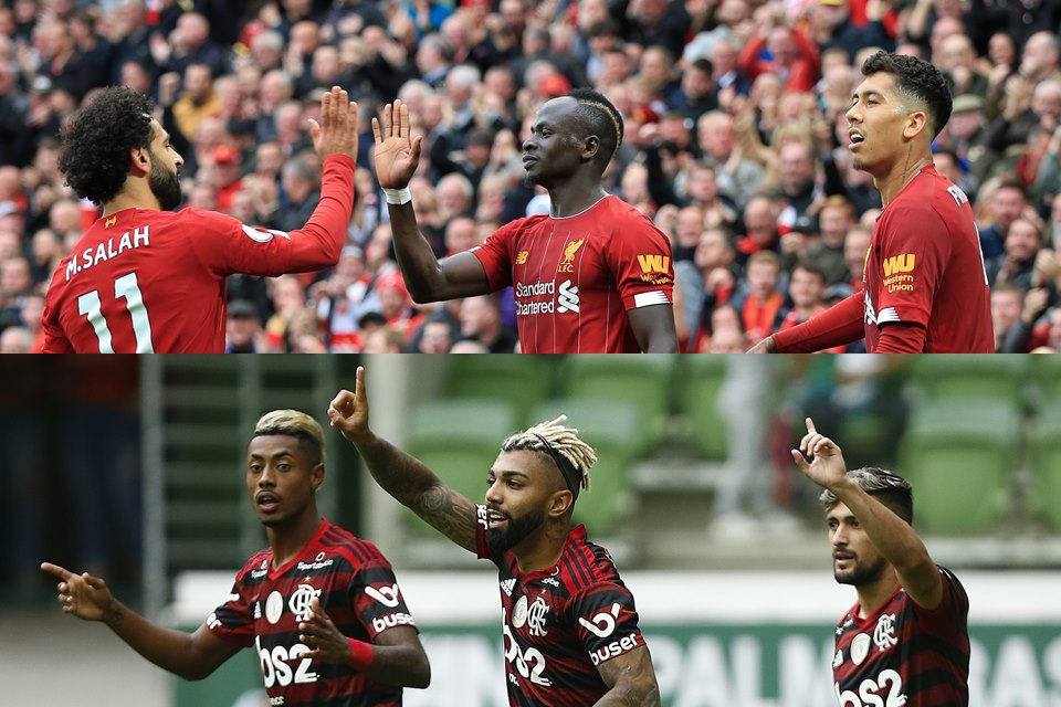 Outro Patamar Compare Números De Flamengo E Liverpool