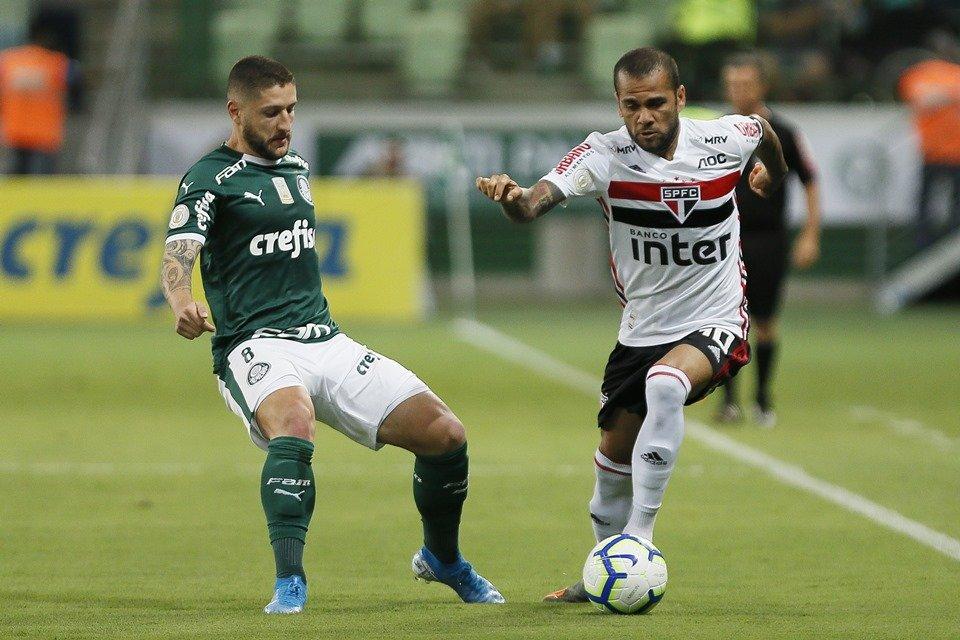 Palmeiras e São Paulo fazem primeiro clássico do Paulistão 2020