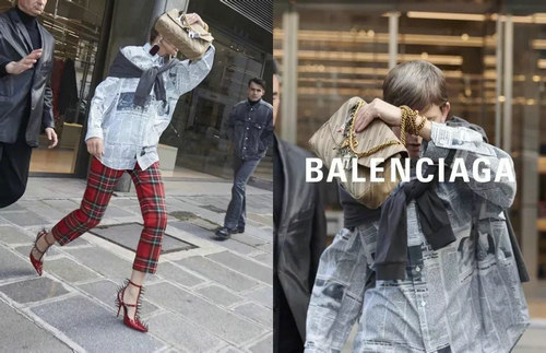 Reprodução/Instagram/@Balenciaga