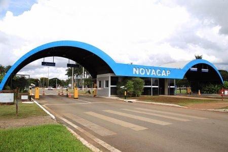 Entrada da Novacap