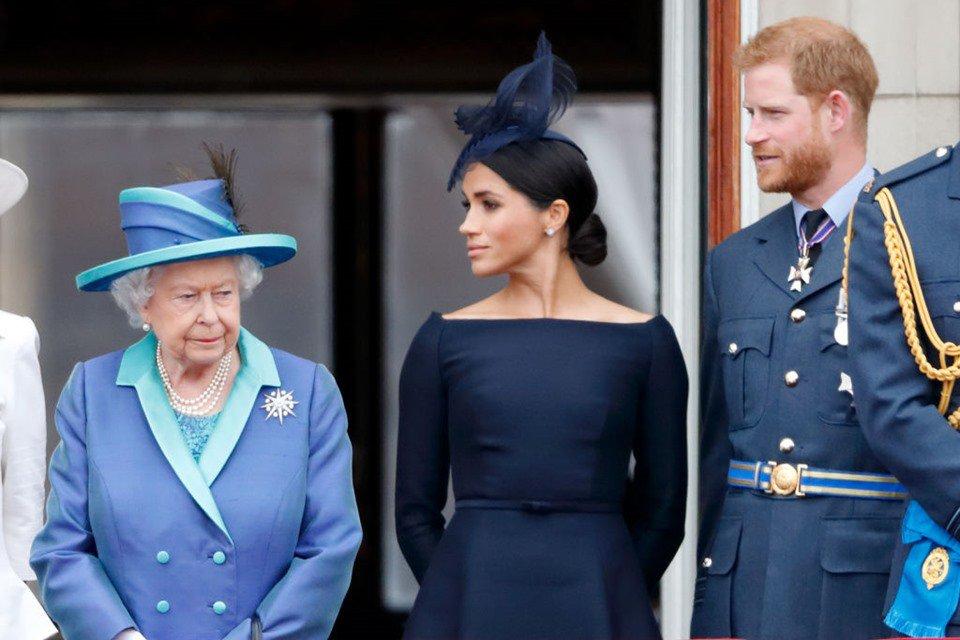 rainha elizabeth ii harry meghan