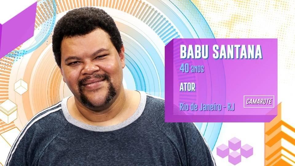babu santana ator bbb20 big brother brasil