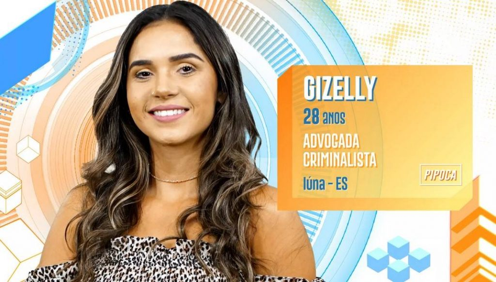 Gizelly no BBB20