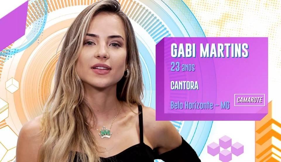 Gabi Martins no BBB20
