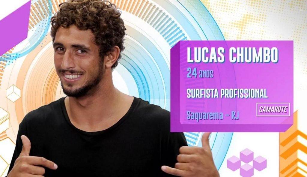 Lucas Chumbo no BBB20