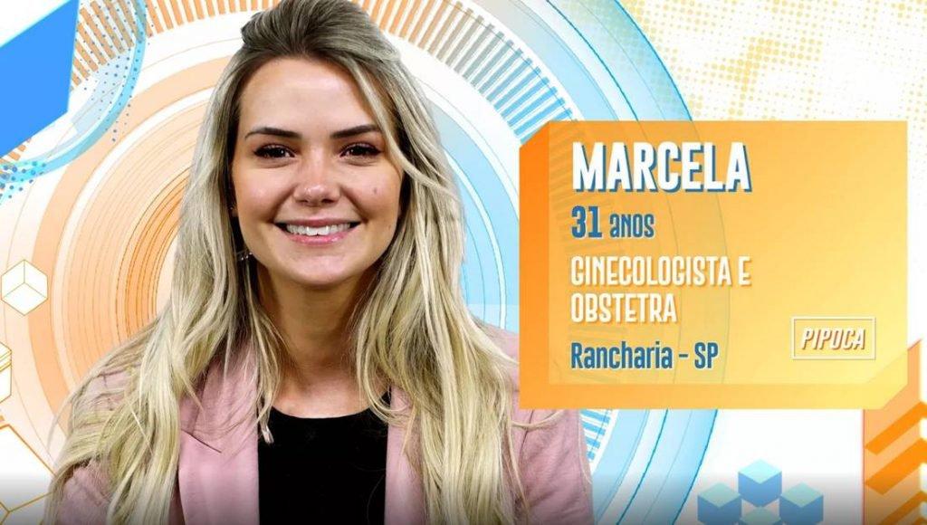 Marcela McGowan no BBB20