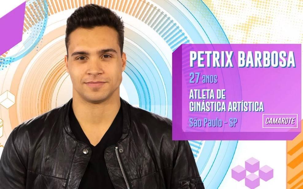 Petrix Barbosa no BBB20