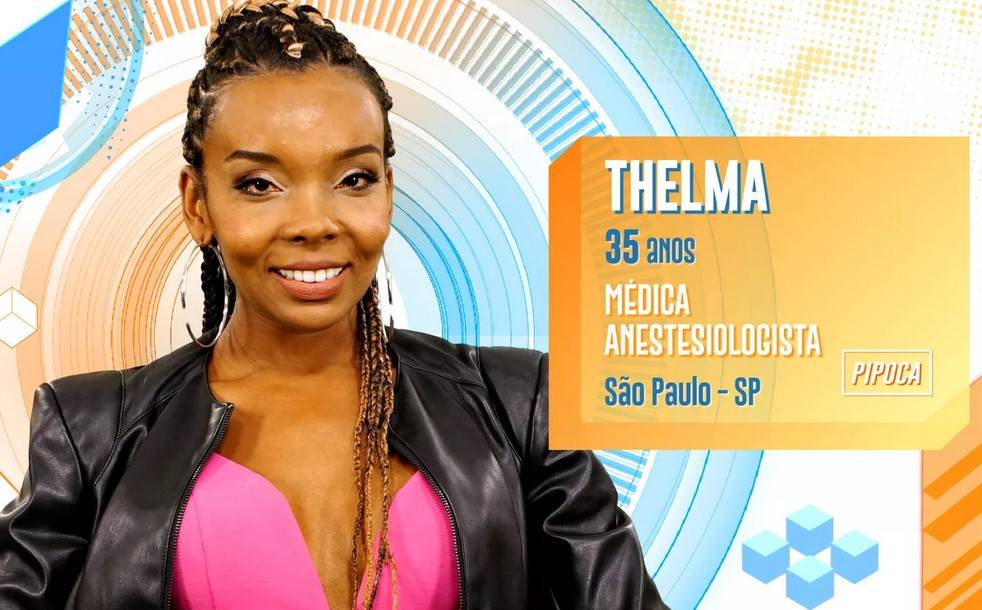 Thelma Assis no BBB20