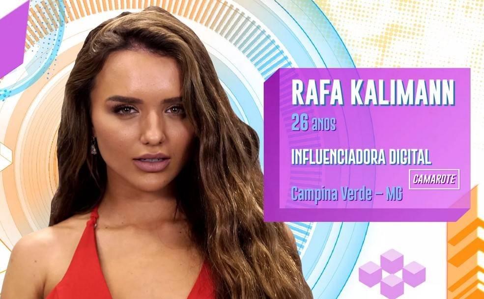 Rafa Kalimann no BBB20