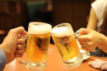 brinde cerveja