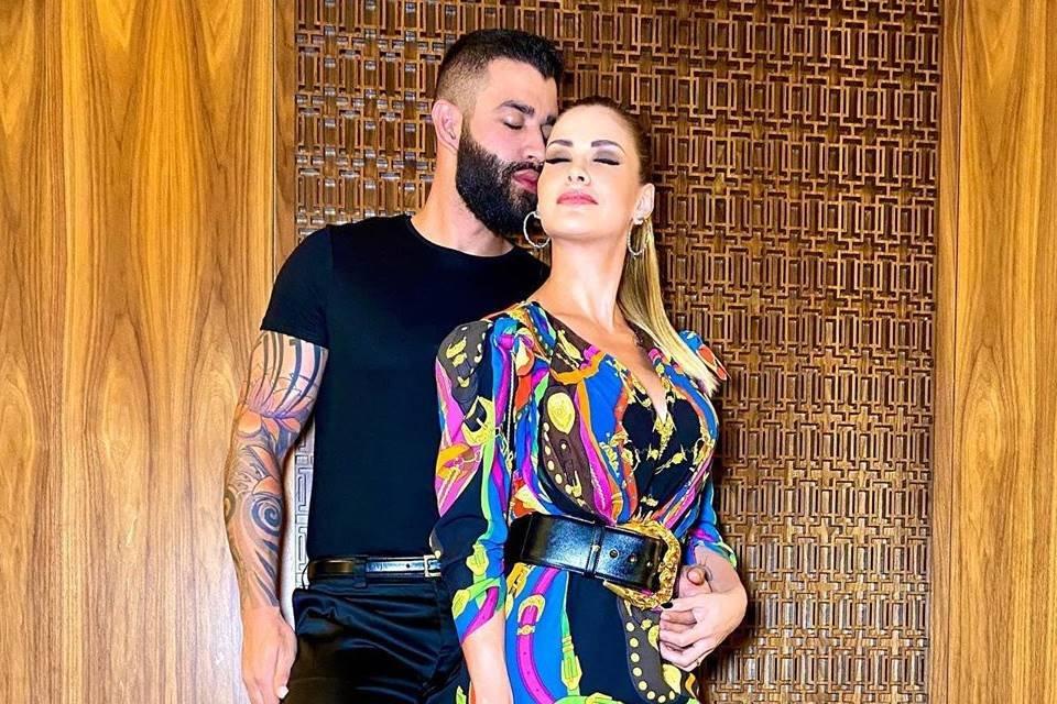 O cantor é casado com a modelo Andressa Suita