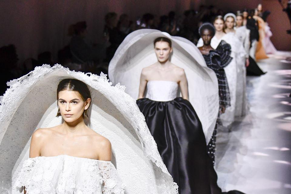 Desfile de alta-costura da Givenchy