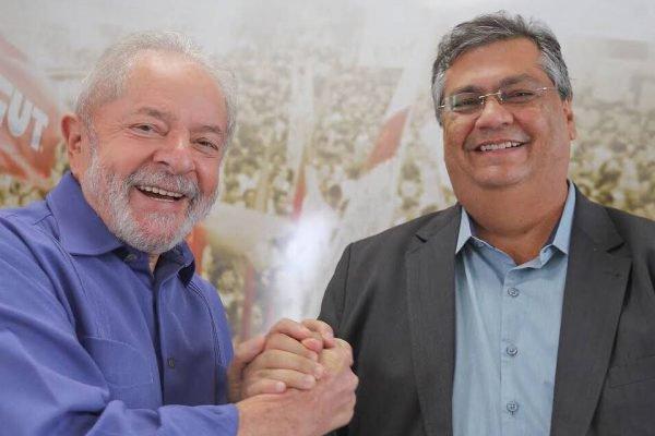 Lula e governador do Maranhão, Flávio Dino