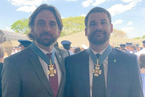 José Santini e Fernando Wandscheer