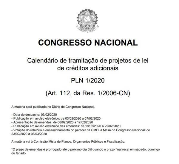 Reprodução/Congresso Nacional