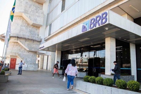 Fachada de agência do BRB