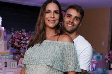 Ivete Sangalo e Daniel Cady