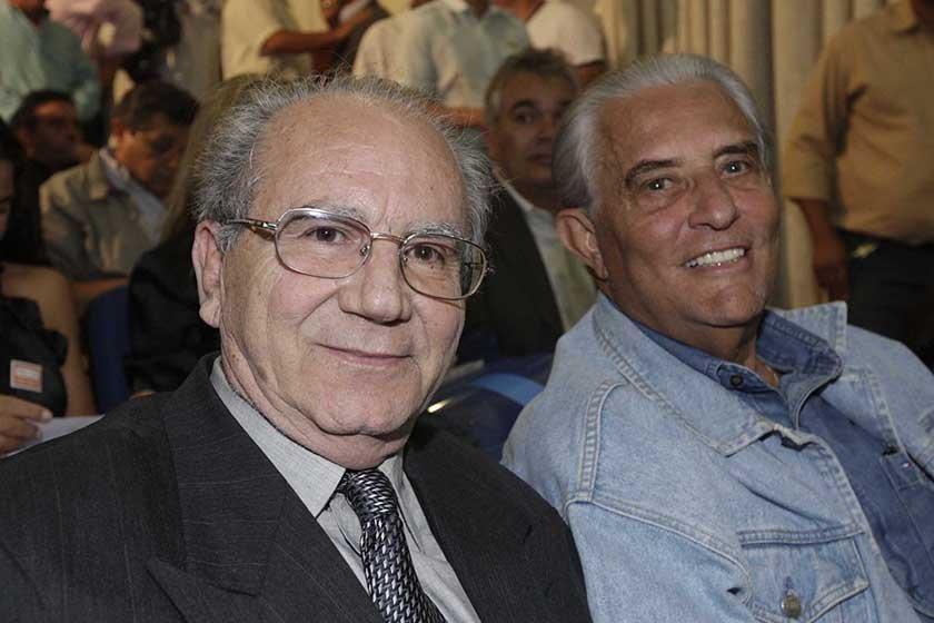 Jofran Frejat e Joaquim Roriz