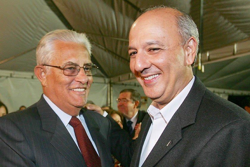 JosÈ Roberto Arruda e Joaquim Roriz