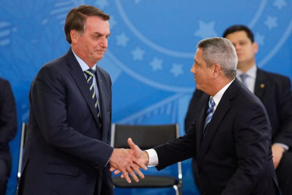 Jair Bolsonaro e Braga Netto