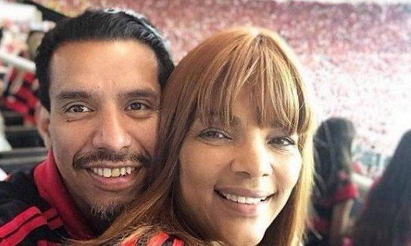 Pastor Anderson e a deputada Flordelis