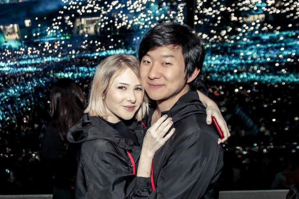 Sammy Lee com Pyong Lee