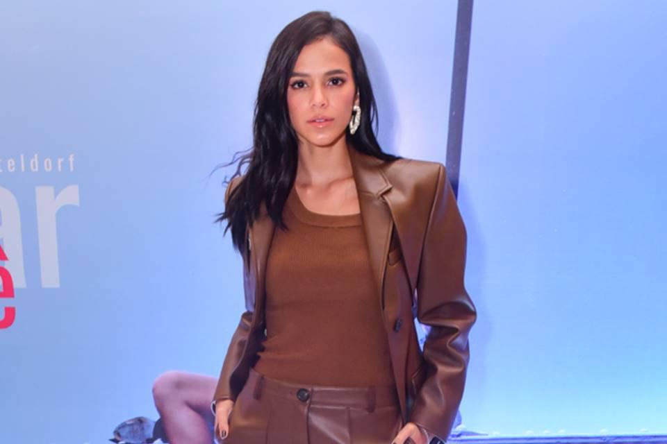 Bruna Marquezine no lançamento do filme Vou Nadar Até Você