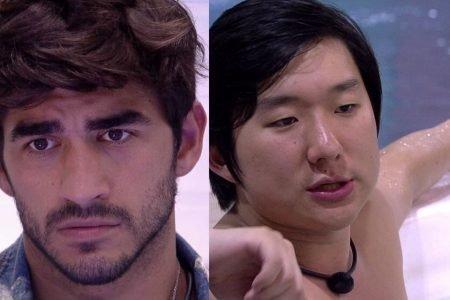 Pyong e Guilherme do bbb20