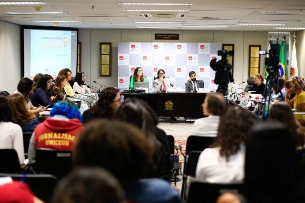 Evento MPDFT sobre feminicídio e violência contra a mulher